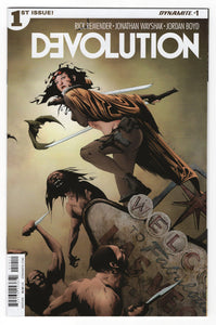 Devolution #1 Cover Front