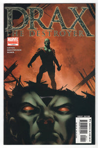 Drax the Destroyer #1 Front Cover
