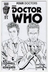 Doctor Who Four Doctors #1 Variant Cover Front