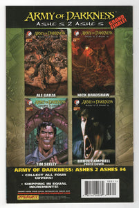 Army of Darkness Ashes 2 Ashes #3 Cover Back