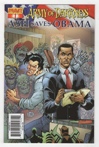 Army of Darkness Ash Saves Obama #1 Cover Front