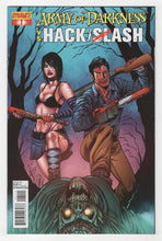 Army of Darkness vs Hack Slash #1 Variant Cover Front