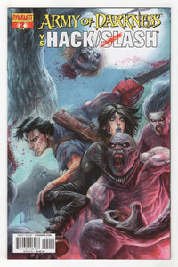 Army of Darkness Vs Hack Slash #2 Cover Front