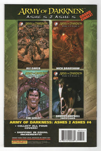 Army of Darkness Ashes 2 Ashes #3 Variant Cover Back