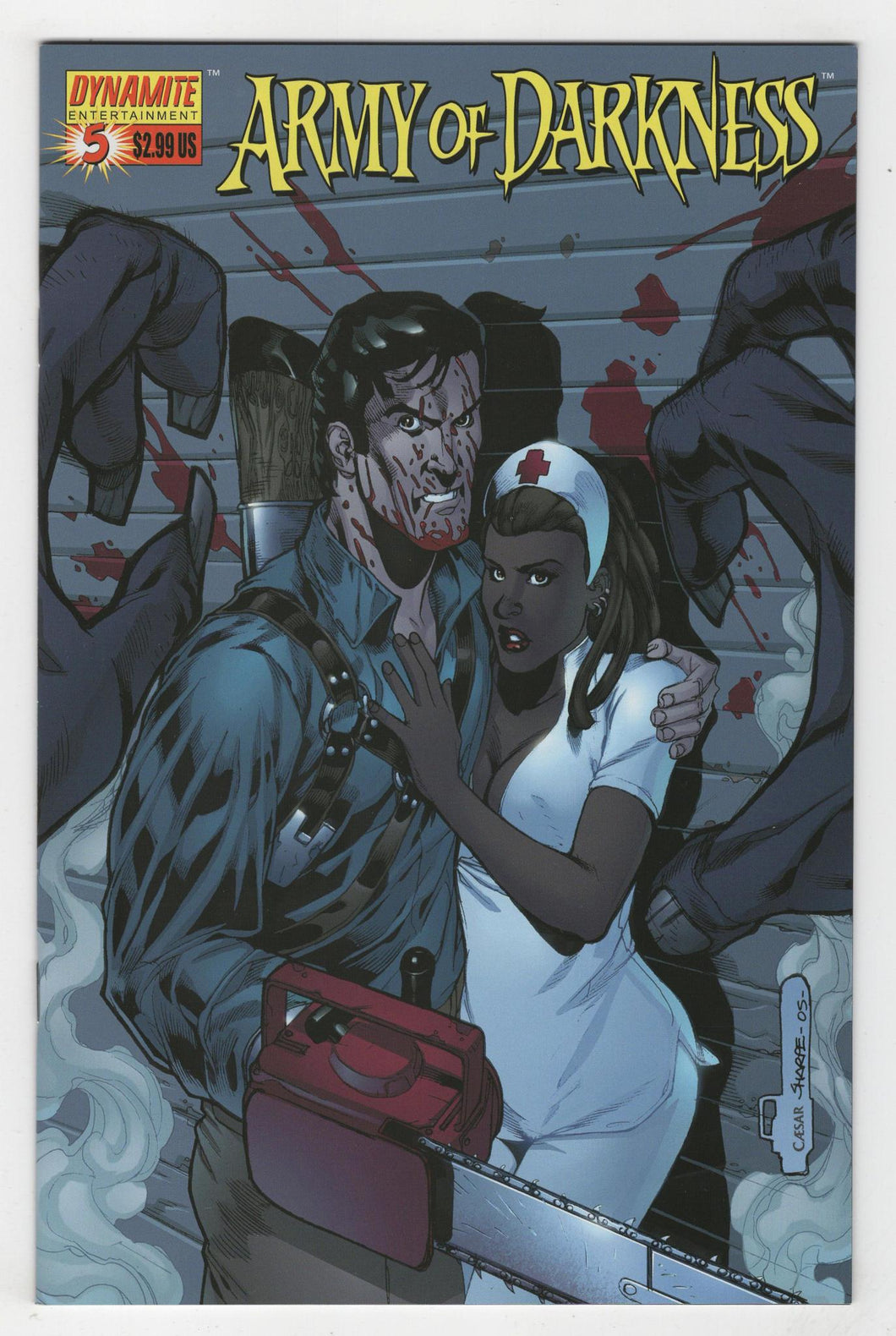 Army of Darkness #5 Variant Cover Front