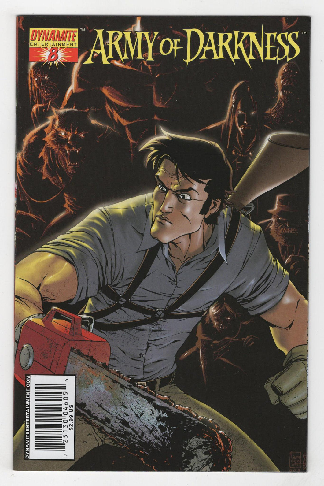 Army of Darkness #8 Variant Cover Front