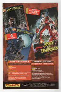 Army of Darkness #8 Variant Cover Back