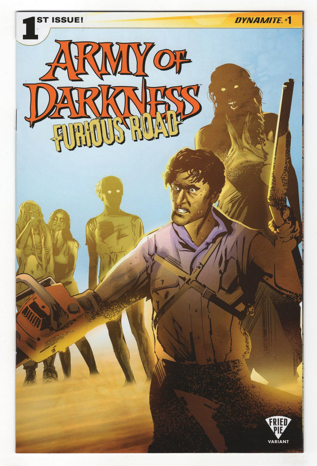 Army of Darkness Furious Road #1 Variant Cover Front
