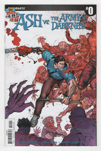 Ash vs the Army of Darkness #0 Cover Front