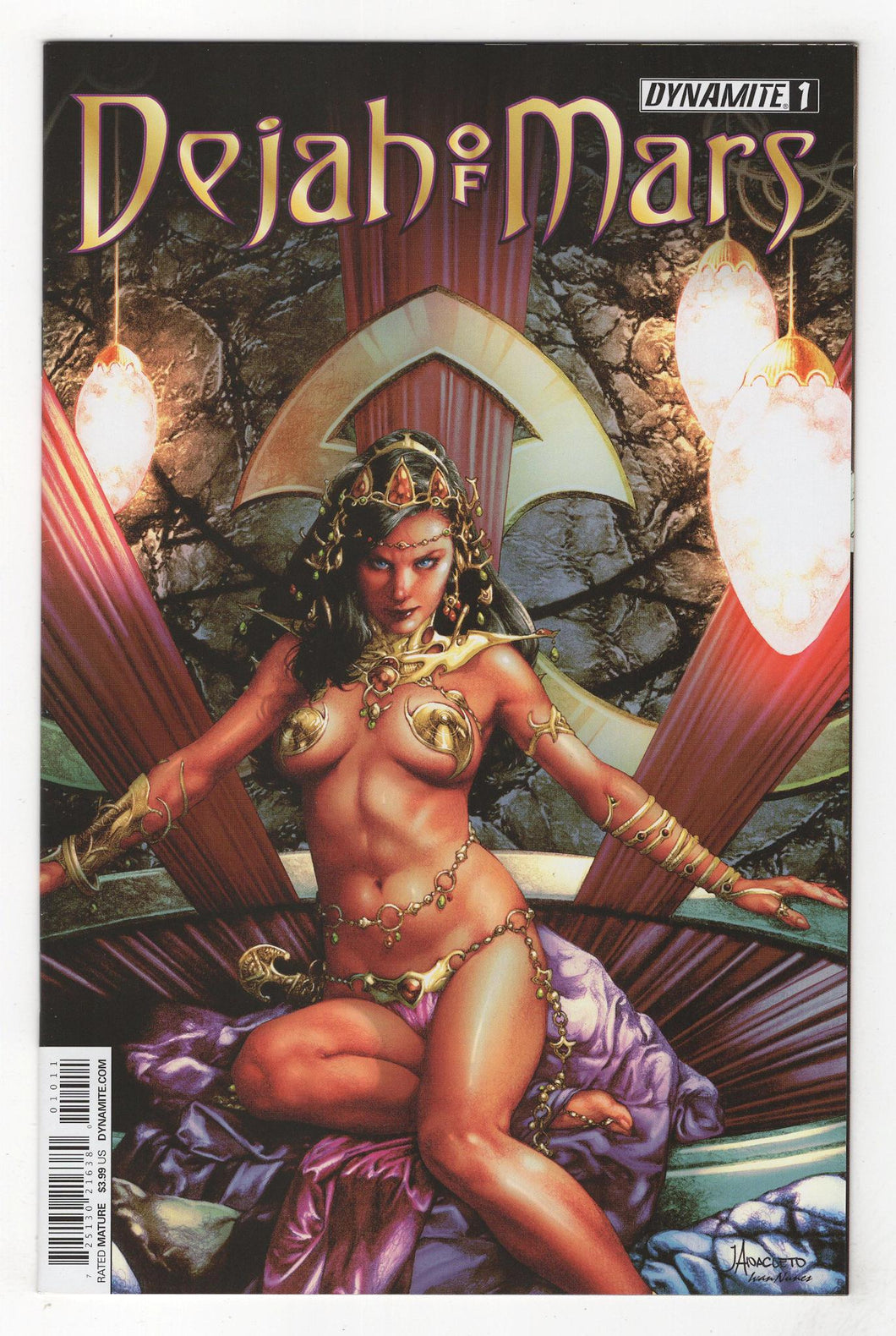 Dejah of Mars #1 Cover Front