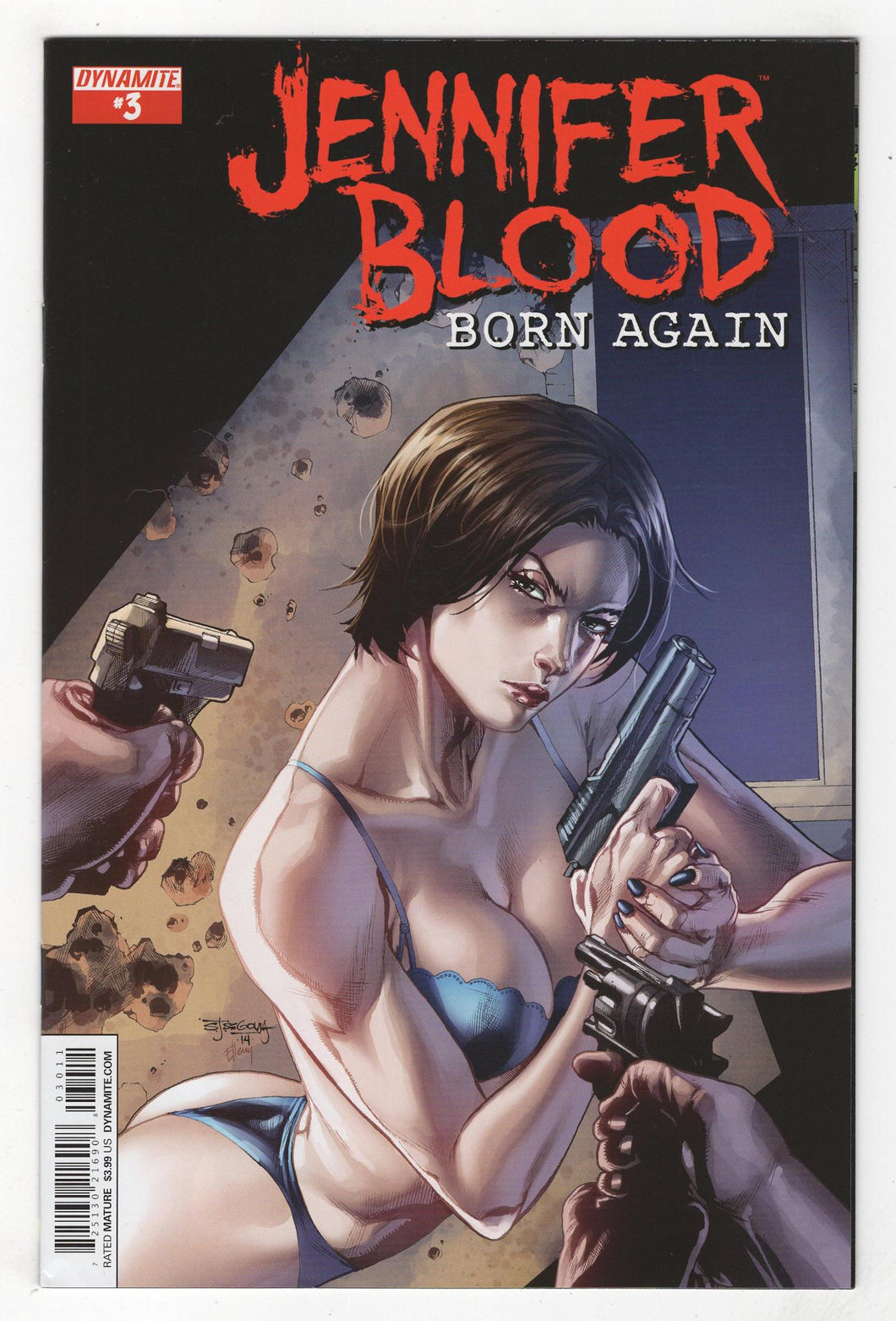 Jennifer Blood Born Again #3 Cover Front