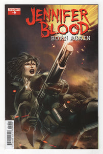 Jennifer Blood Born Again #4 Cover Front