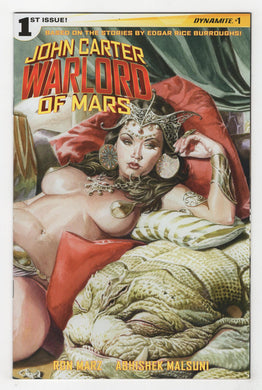 John Carter Warlord of Mars #1 Jones Variant Cover Front