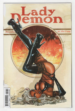 Lady Demon #1 Poulat Variant Cover Front