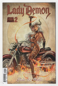Lady Demon #2 Variant Cover Front