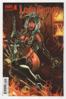Lady Demon #4 Variant Cover Front