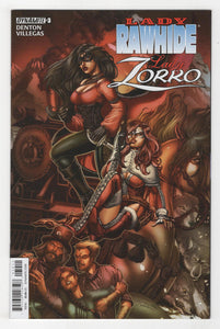 Lady Rawhide Lady Zorro #3 Cover Front
