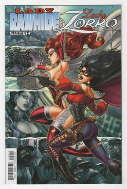 Lady Rawhide Lady Zorro #4 Cover Front