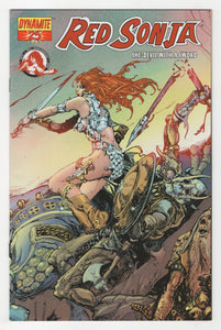 Red Sonja #25 Variant Cover Front