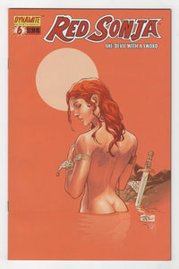 Red Sonja #6 Cover Front