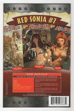 Red Sonja #6 Cover Back