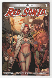 Altered States Red Sonja #1 Cover Front