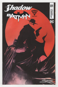 Shadow Batman #1 Variant Cover Front
