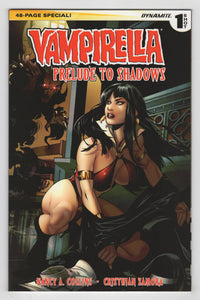 Vampirella Prelude to Shadows One Shot Cover Front