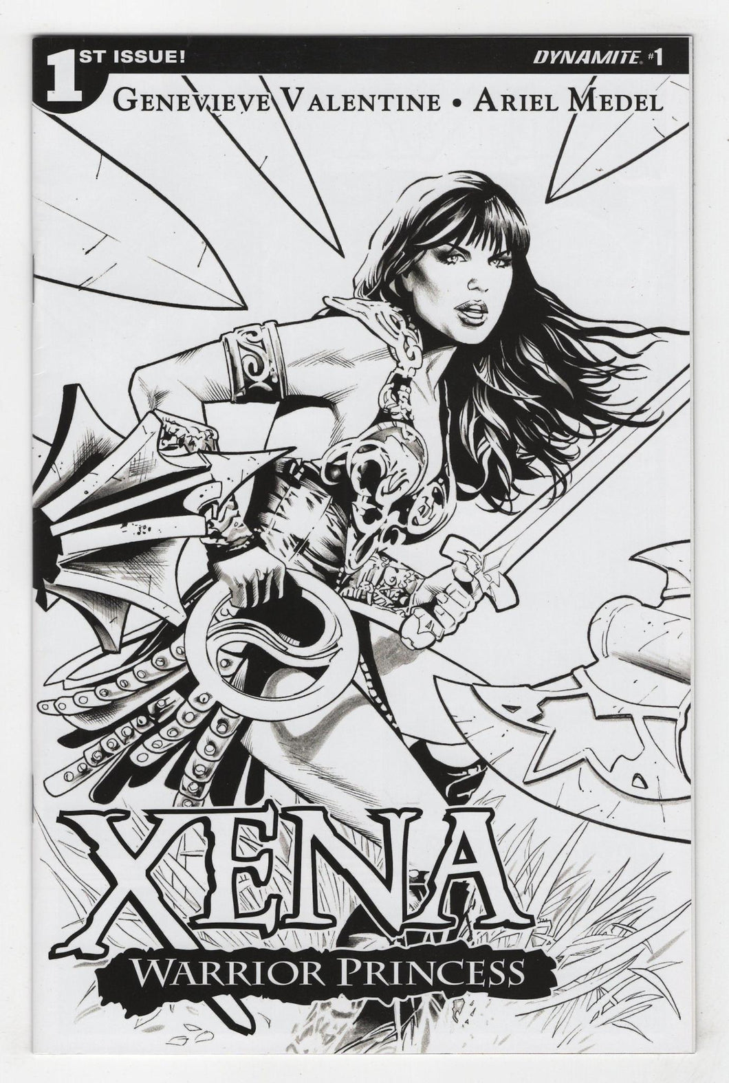 Xena Warrior Princess #1 Land Variant Cover Front