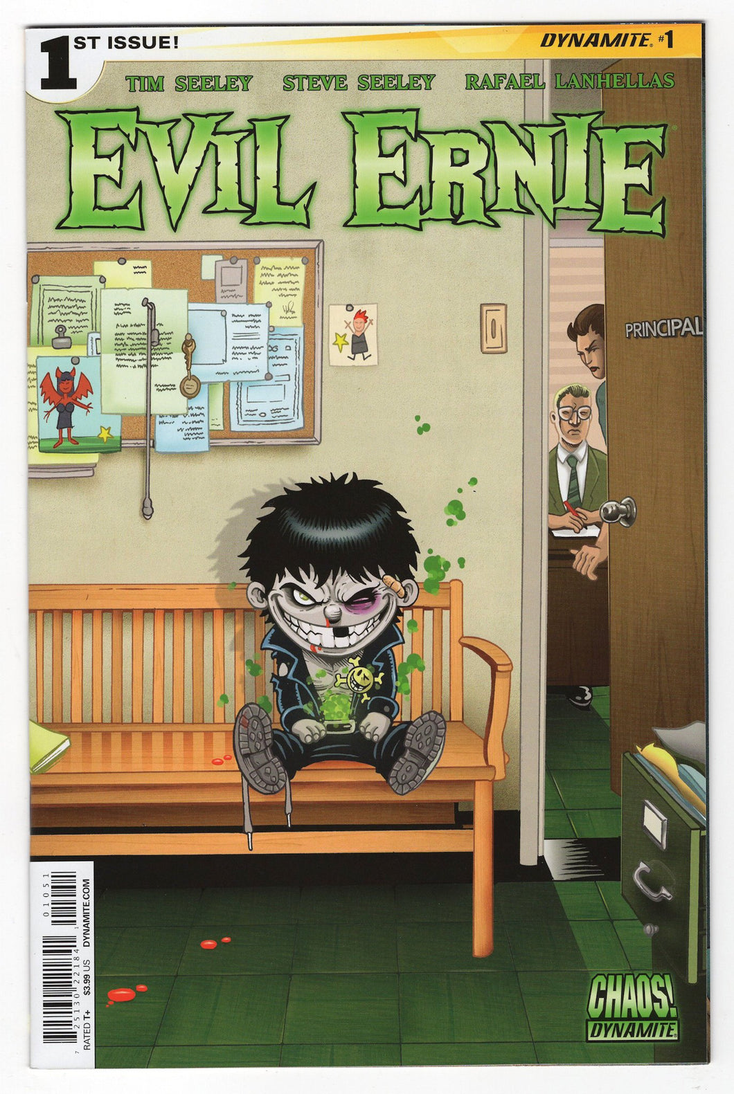 Evil Ernie #1 Cute Variant Cover Front