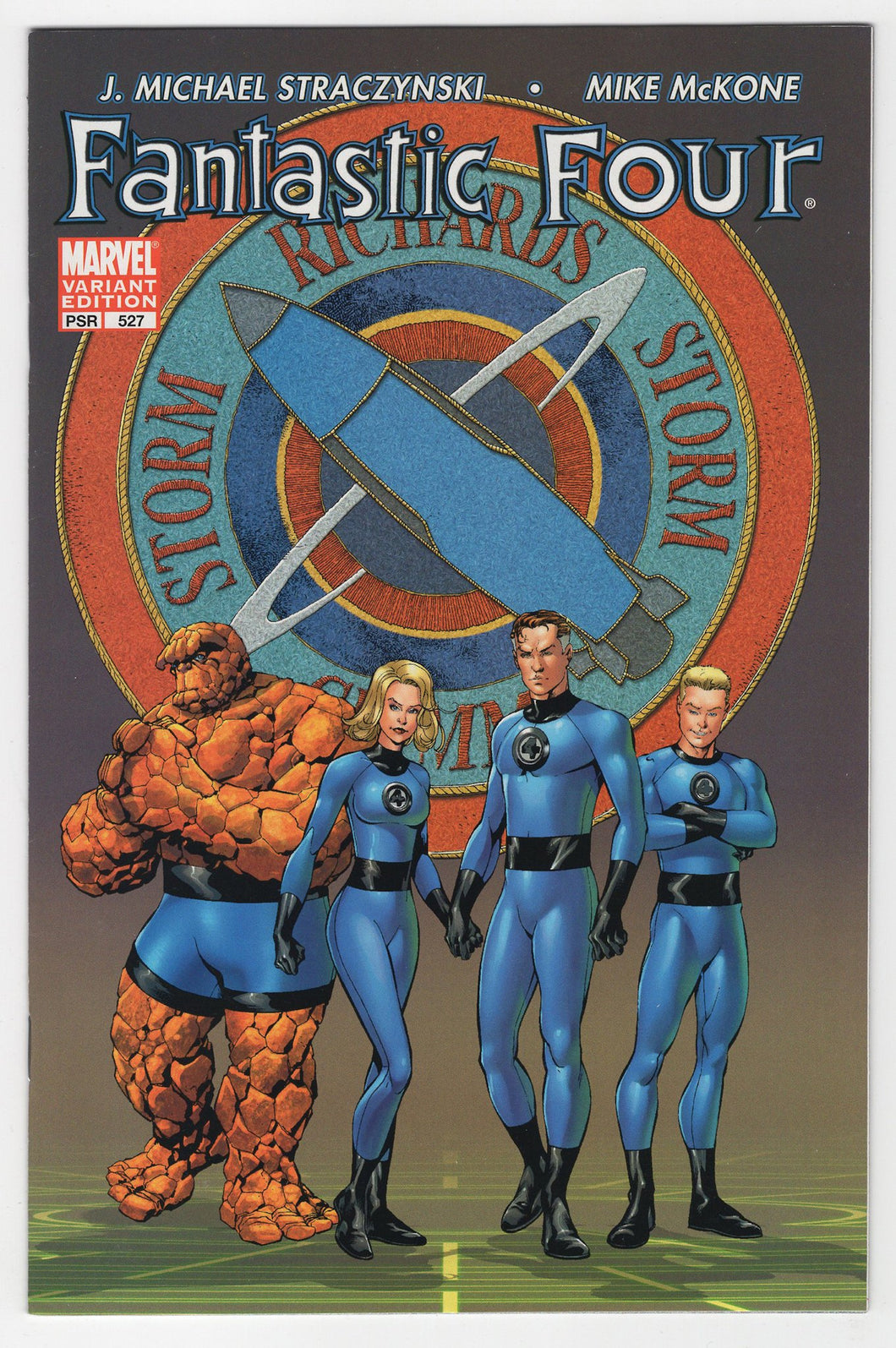 Fantastic Four #527 Variant Cover Front
