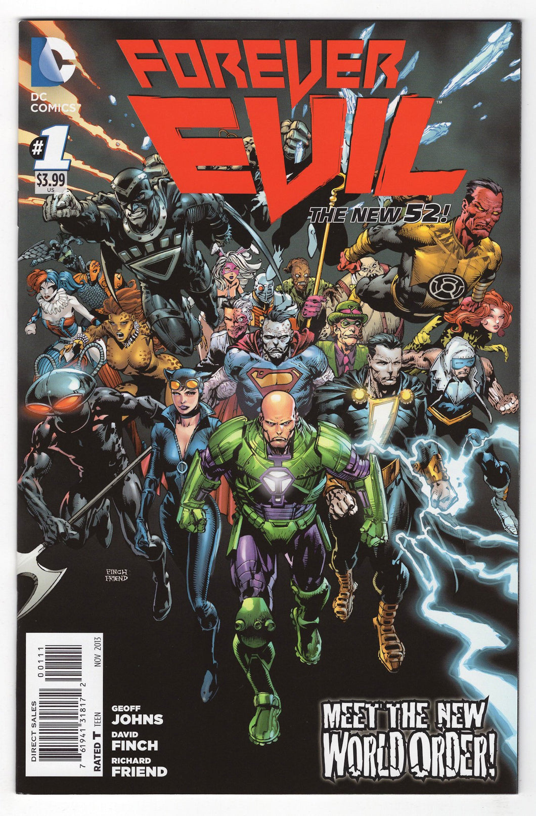 Forever Evil #1 Cover Front