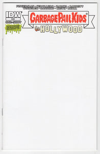 Garbage Pail Kids Go Hollywood #1 Blank Sketch Variant Cover Front