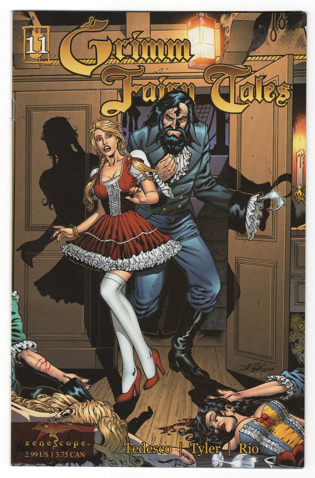 Grimm Fairy Tales #11 Cover Front
