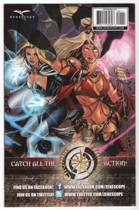 Grimm Fairy Tales Angel One Shot Cover Back