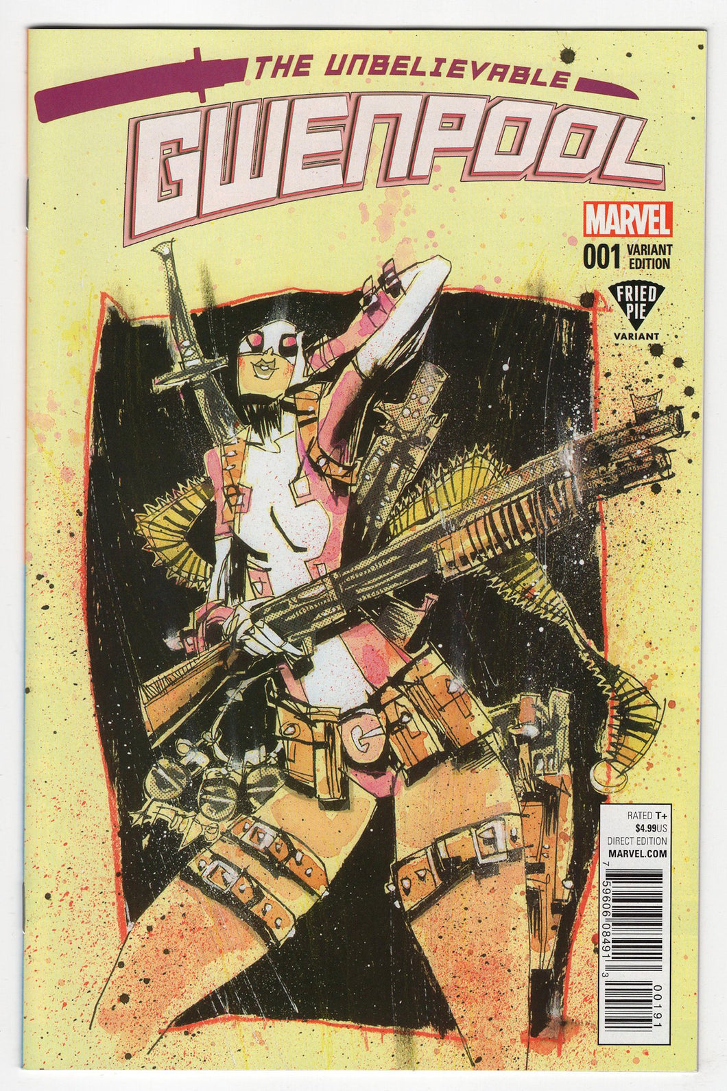 The Unbelievable Gwenpool #1 Variant Cover Front