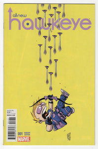 All New Hawkeye #1 Variant Cover Front