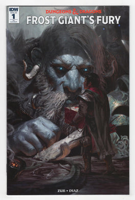 Dungeons and Dragons Frost Giant's Fury #1 Variant Cover Front