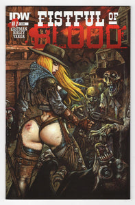 Fistful of Blood #1 Cover Front