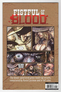 Fistful of Blood #1 Cover Back