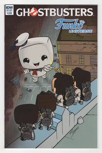 Ghostbusters Funko Universe One Shot Cover Front