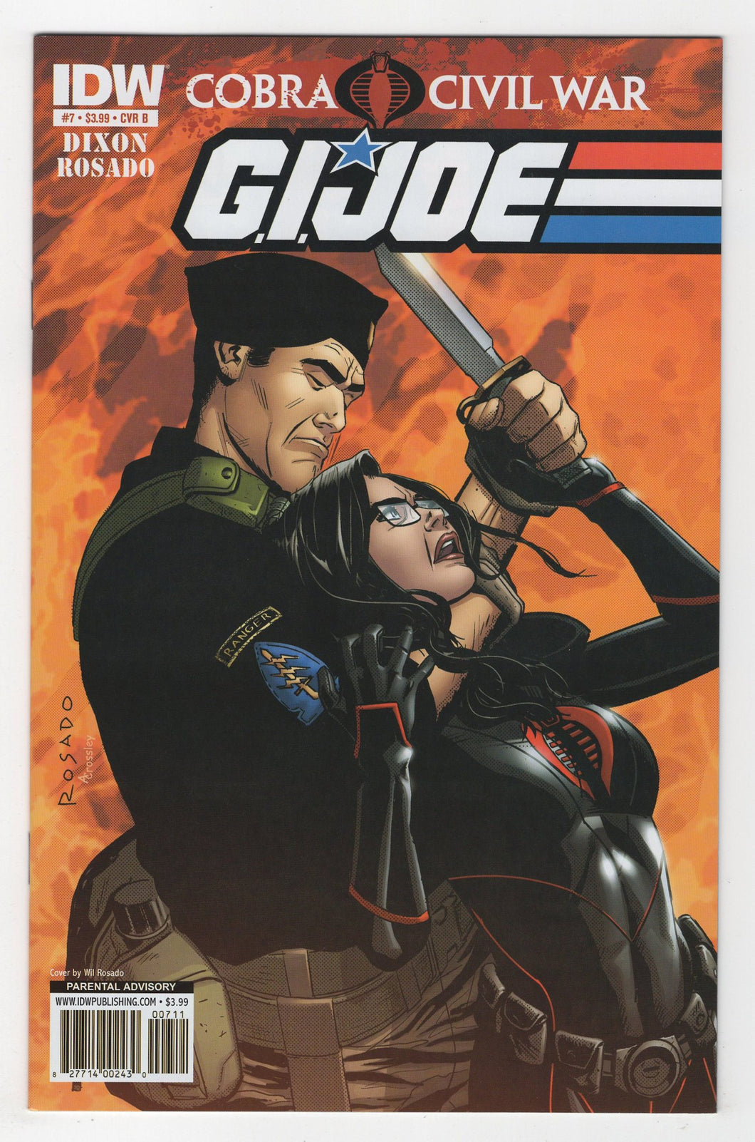 GI Joe #7 Variant Cover Front