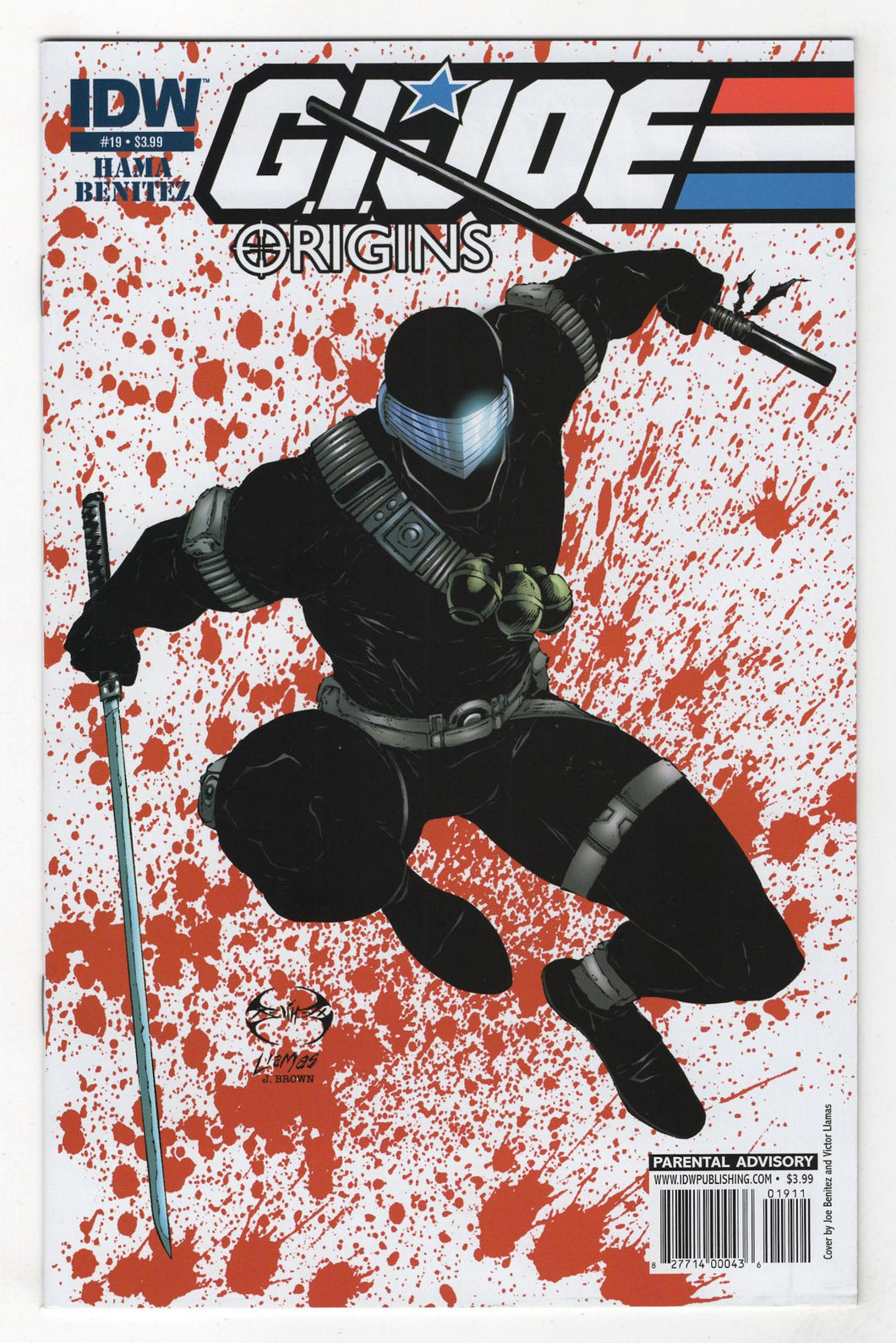 GI Joe Origins #19 Cover Front