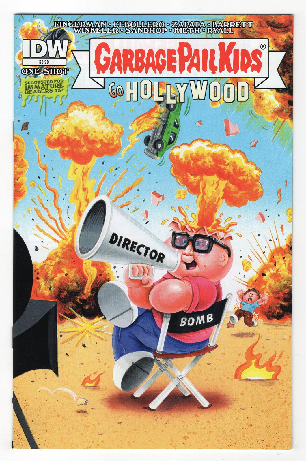 Garbage Pail Kids Go Hollywood #1 Cover Front