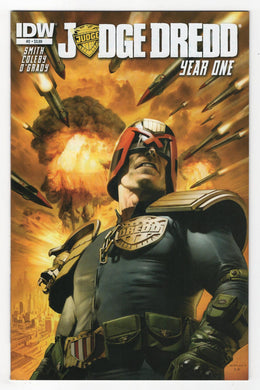 Judge Dredd Year One #2 Cover Front