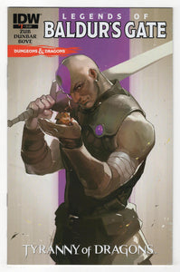 Dungeons and Dragons Legends of Baldur's Gate #1 Cover Front