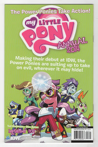 My Little Pony Friendship is Magic #23 Variant Cover Back