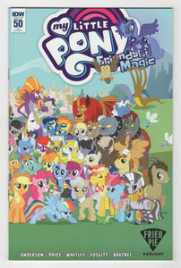 My Little Pony Friendship is Magic #50 Variant Cover Front