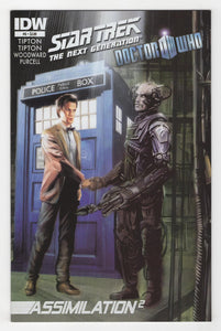 Star Trek the Next Generation Doctor Who Assimilation Squared #6 Cover Front