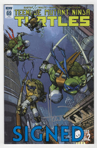 Teenage Mutant Ninja Turtles #69 Variant Cover Front Signed
